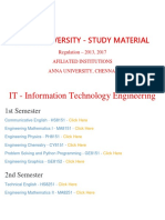 it Information Technology Department -B.E., ANNA UNIVERSITY Important Question and Answers- Regulation 2013,2017 - STUDY MATERIAL, Notes