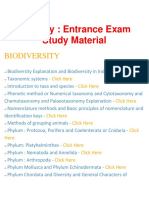 Zoology - Important Questions and Answers, Entrance Exam, Study Material and Notes - BrainKart