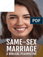 Same Sex Marriage a Biblical Perspective