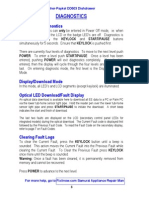 Fisher-Paykel DD603 Dishdrawer Diagnostics