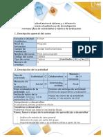 Guía de actividades y rúbrica de evaluación tarea 3- Plantear problema