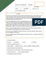 PRUEBA ESCRITA DE  COMUNICACIÓN           NOVIEMBRE.docx