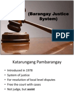effectiveness of katarungang pambarangay on handling cases of physical injuries The department of justice found that that the complaint fails to state a cause of action on the ground of non-compliance with the provisions of the local government code of 1991, on the katarungang pambarangay conciliation procedure this finding was affirmed by the court of appeals and the supreme court.