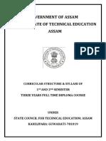 ASSAM  Diploma New Syllabus