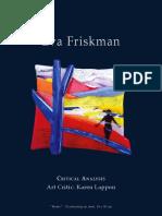 Eva Friskman - Art Critique