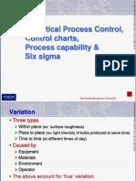SPC, Control Charts, Process Capability, Six Sigma