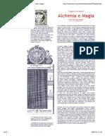 Zenit - Documenti Ermetici - Canseliet, Alchimia e Magia