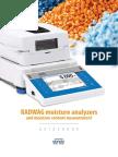 Moisture Analyzers - Guidebook
