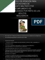 Negligencia y Trastornos de Aprendizaje- protocolo 2017