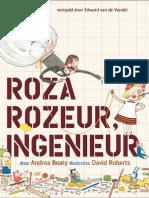 Roza Rozeur, ingenieur - Andrea Beaty & David Roberts (leesfragment)