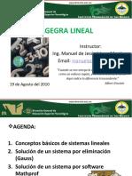 ÁLGEGRA LINEAL