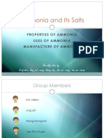 Ammonia and Its Salts