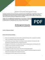 Bid Management Executive - Malaysia
