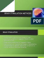 Brain Stimulation Methods Psychiatry