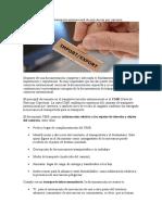 Documentación Para El Transporte Internacional de Mercancías Por Carretera