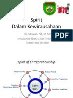 Spirit Kewirausahaan Poltekses 27092017