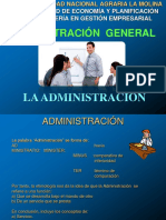 1 Administración General