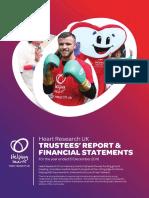 HRUK Trustees' Annual Report 2016