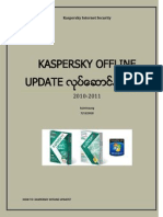 Kaspersky Offline Update Methods