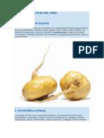 10 Plantas Nativas Del Peru
