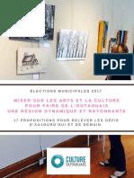 Priorités Du Secteur Culturel_élections Municipales_VF