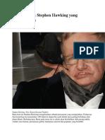 8 Pernyataan Stephen Hawking