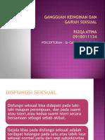 Gangguan Keinginan Dan Gairah Seksual