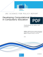 computational thinking in compulsory education