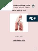 Exploración de Tórax Respiratorio