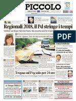 Il Piccolo Trieste 12 Settembre 2017