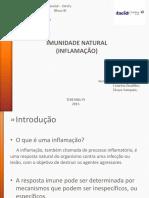Imunologia - Processo Inflamatorio
