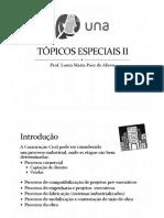 Tópicos Especiais II Aula 1