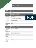 Modelo y Características Físicas