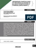 Efeito Da Desidratação Osmótica Como Tratamento Preliminar Na Secagem Da Maçã Gala (Malus Domestica Bork) e Mamão Formosa (Carioca Papaya l)
