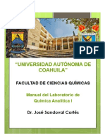 Manual de Laboratorio Química Analítica