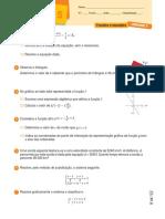 9. Equações e Funções - Ficha de Recuperação