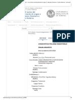 LINGUISTICA ITALIANA MAGISTRALE - Corsi Di Laurea Del Dipartimento Di Lingue e Letterature Straniere e Culture Moderne - Università Degli Studi Di Torino