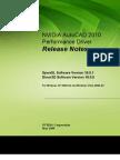 NVAutoCAD Releasenotes May09