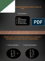 Analisis Konsep Kepemimpinan Ketua Kelas s15b-1