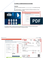 Manual Para La Verificacion de Facturas