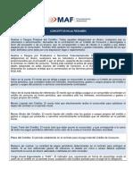 Conceptos Del Credito Automotriz - MAF Chile