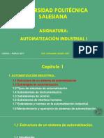 2.- Estructura de Un Sistema de Automatización