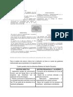Análisis Del Entorno Interno de La Institución Educativa de San Lorenzo