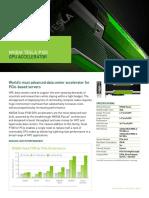 Nvidia Tesla p100 PCIe Datasheet