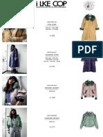 Lookbook Dear Freddy Retail Prijzen