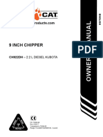 Manual 9 Inch Chipper