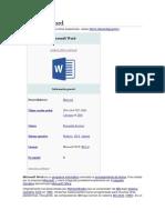 La Biblia de Microsoft Word