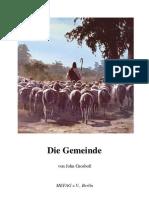John Grosboll _ Die Gemeinde (Adventisten, Ökumene und babylonischer Abfall)