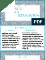 Educacion U 1