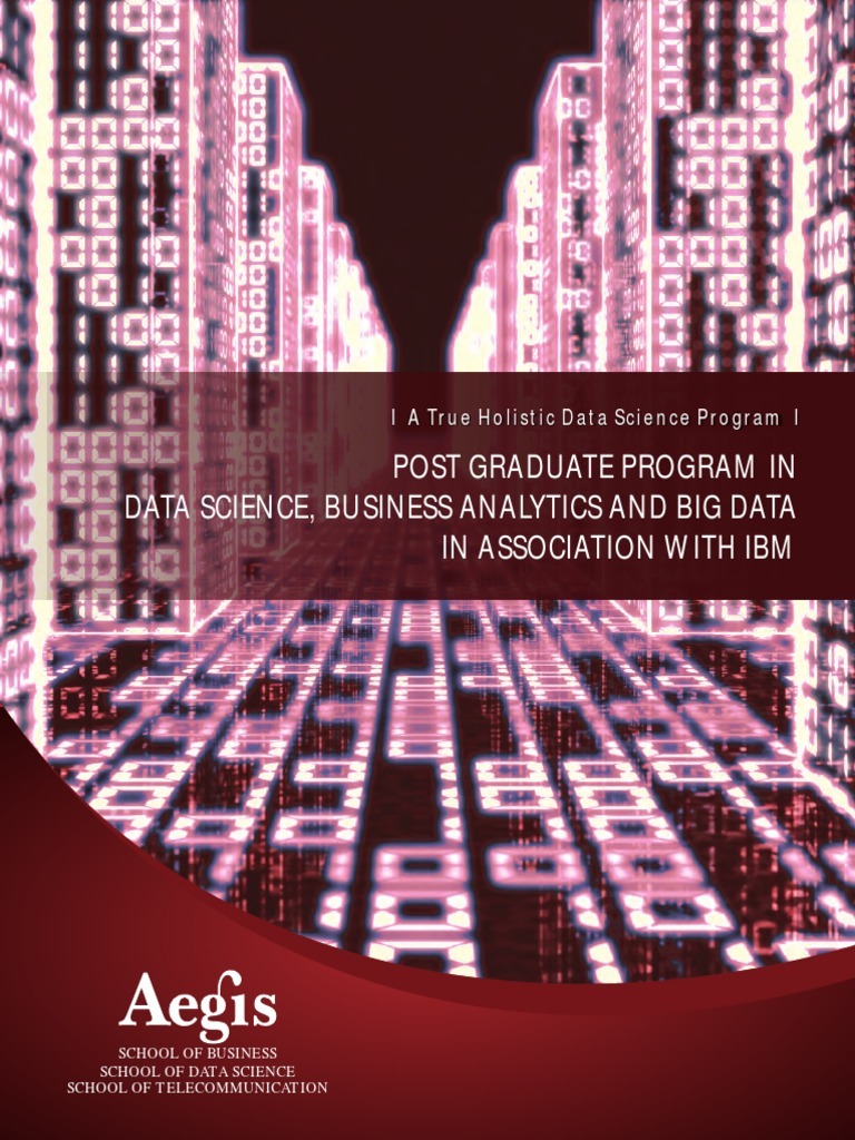 Aegis Babd Brochure | Analytics | Data Science